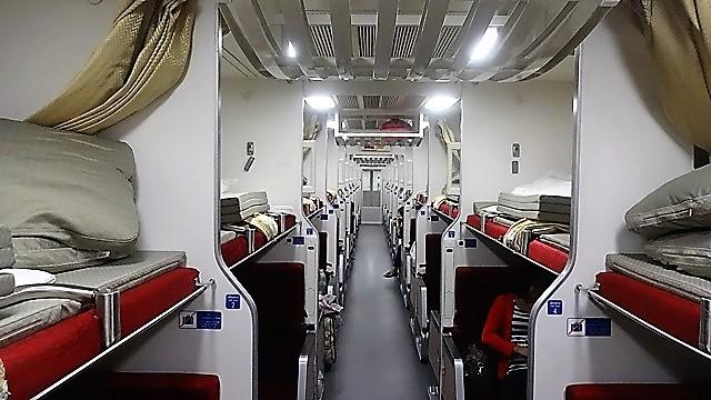 SRT(タイ国鉄)のニュー寝台二等列車に乗ってみた④